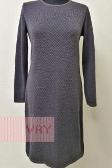 Платье женское 182-2370 Фемина (Графит/мокрый асфальт)