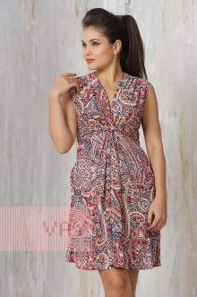 Платье женское 3205 Фемина (Мозайка красный)