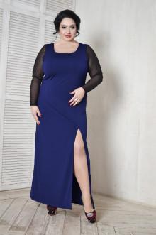 Платье 099702 ЛаТэ (Темно-синий)