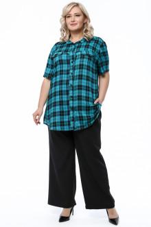 Рубашка 1245-908 Грация Стиля (Бирюза)